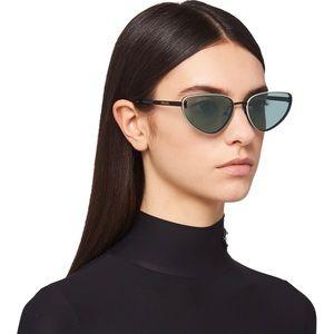NWT Prada Duple Sunglasses in Jade/Aqua Green
